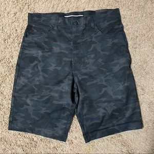 NWT Encrypted Black Camo Shorts